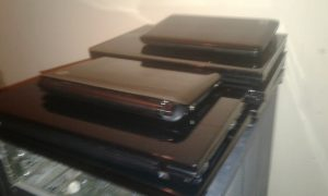 Lots of different hp laptops