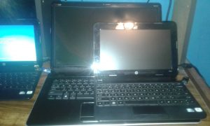 workstation laptop and hp mini